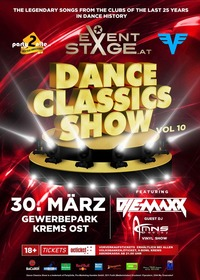 Dance Classics Show Vol. 10@Eventstage Krems