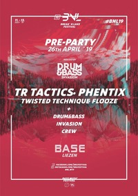 Break and Lake / Pre-Party w/ TR Tactics and Phentix