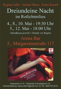 Dreiundeine Nacht im Rotlichtmilieu @Arena Bar Variete Theater Cafè