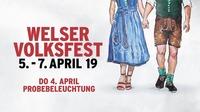 Welser Volksfest 2019 - Frühjahr@Messegelände Wels