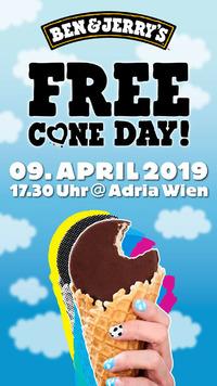 Ben & Jerry's Free Cone Day 2019@Adria Wien / Donaukanal