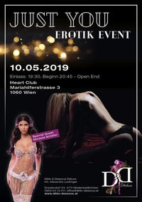 Just You - Erotik Event@Heart Club Wien