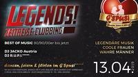 Legends! Zeitreise Clubbing@Gspusi Tanz und Flirt Lokal