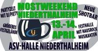 Mostweekend Niederthalheim@ASV Halle