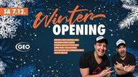 Winter Opening@GEO