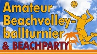 Beachvolleyballturnier und Beachparty@Kaindorf AKTIV