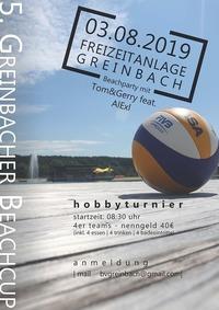 5. Greinbacher Beachcup@Badesee Greinbach