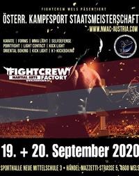 Ost. Staatsmeisterschaft  im Kampfsport 2020