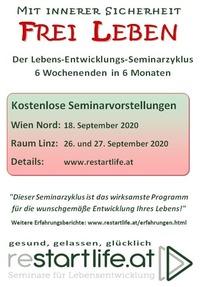 Mit innerer Sicherheit FREI LEBEN!@Seminarraum Franz Josef Weihs