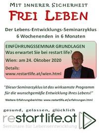 Einführungsseminar Grundlagen - Was erwartet Sie bei reStartLife@Seminarraum Franz Josef Weihs