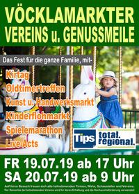 Vöcklamarkter Vereins- und Genussmeile@Vöcklamarkt Zentrum