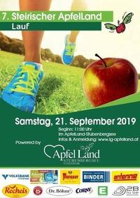 7. Steirischer ApfelLand Lauf@Laufgemeinschaft Apfelland