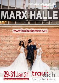 Hochzeitsmesse TRAU DICH@MARX Halle