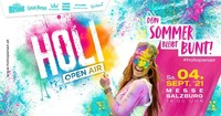 HOLI Festival der Farben Salzburg 2021