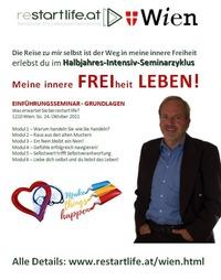 In WIEN: Meine innere FREIheit LEBEN!@Seminarraum Franz Josef Weihs