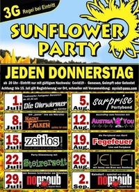 Sunflowerparty - mit Die Nachtfalken