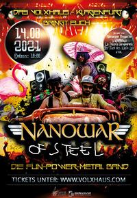 Nanowar Of Steel - Club Tour VolXhaus Klagenfurt@Volxhaus - Klagenfurt