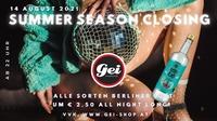 Summer Season Closing