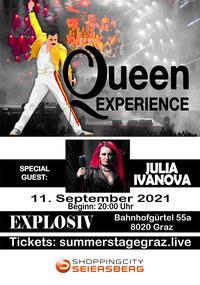 6 Pence - Queen Experience & Julia Ivanova@explosiv graz