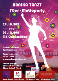 Arnika tanzt - 70er Mottoparty Vol. 1@M1 Martinibar