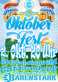 Oktoberfest 2021@Sportplatz Gattendorf