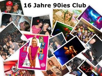 16 Jahre 90ies Club@The Loft