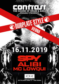 CONTRAST presents S.P.Y - Dubplate Style@GRELLE FORELLE