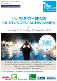 14. Parktherme 24-Stunden-Schwimmen 2019@Parktherme