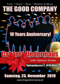 10 Years THE GOOD COMPANY Live@Fledermaus