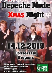 Depeche Mode Xmas Night@Gösserbräu Bregenz