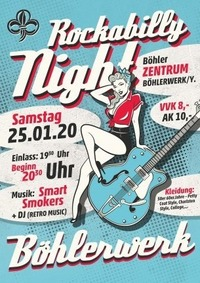Rockabilly Night@Böhlerzentrum