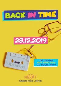 Back in Time - 80s, 90s, 00s hits only@Heart Club
