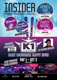 Daily Longdrink Happy Hour@K1 CLUB