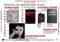 Prosa- und Bildminiaturen, Kopfwelten und spannende Geschichten!@Cafe Club International C.I.