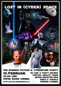 Lost in (Cyber) Space - The Science Fiction & Cyberpunk Party@Viper Room