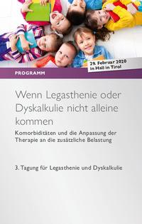 3. Tagung für Legasthenie und Dyskalkulie@Tiroler Privatuniversität UMIT