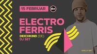 Ferris MC (Deichkind) DJ Set@GEI Musikclub