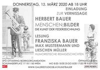 Herbert Bauer - Federzeichnungen@SPÖ Ottakring Bezirksorganisation