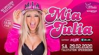 Großes Zeltfest mit MIA JULIA Live@Paola Bar Restaurant Schirmpub