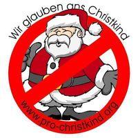 Gruppenavatar von wir glauben noch ans christkind - keine chance dem weihnachtsmann