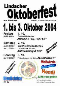 Oktoberfest Frühschoppen@Schul- & Vereinszentrum