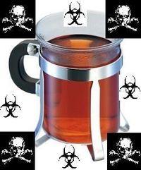 Tee, ziemlich hartes Zeug
