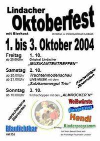 Oktoberfest der FF-Lindach@Schul- & Vereinszentrum
