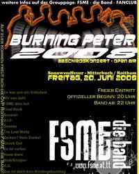 Burning Peter 2008 mit FSME-Abschiedskonzert@Sperl