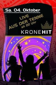 Kronehit-Radio Liveübertragung@Hohenhaus Tenne