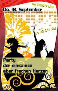 Party der einsamen aber frechen Herzen@Hohenhaus Tenne