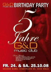 5 years of G&D :mCLUB :: The Birthday Party