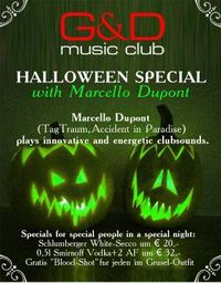 Halloween Special with Marcello Dupont