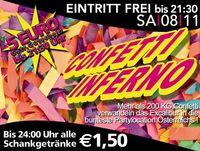 Confetti Inferno@Excalibur