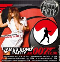 James Bond Party@Fifty Fifty